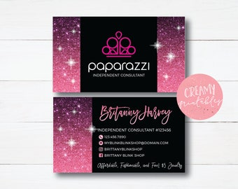 Paparazzi business cards free personalized paparazzi jewelry paparazzi business cards free personalized paparazzi jewelry consultant card ombre glitter for reheart Images