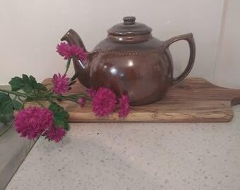 Bendigo Pottery Teapot  Vintage 1970s