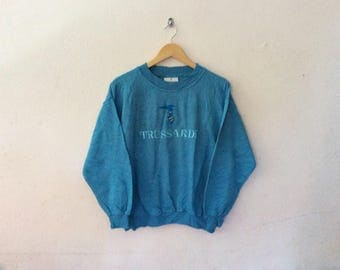 Vintage TRUSSARDI made in Italy sweatshirt