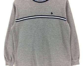 Rare !!! Vintage Polo British Country Spirit Sweatshirt vtg Sportwear Nice Design Casual Retro Rap Tees Hip Hop Swag Size M