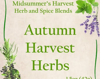 Autumn Harvest Herbs
