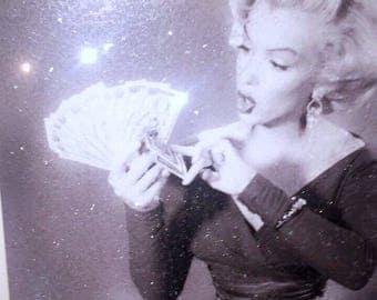 Marilyn Monroe 16x20 BLOCK FRAME