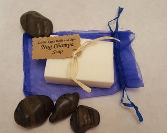 Nag Champa Soap - Handmade, Bridal Party Favor, Gift for Her, Natural, Bath and Body Gift, Bath Favor, Scented Soap
