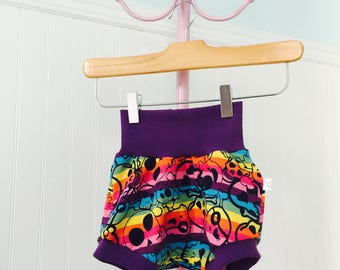 Scalable shorts 9-36 months, children's clothing, skull baby clothes, summer
