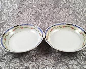 Vintage H&C Selb Bavaria set of 2 bowls