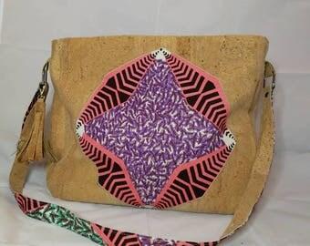 Bag made of Cork and wax