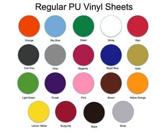 "Heat Transfer Vinyl Sheets 12"" X 9"" Easy Weed, PU, Polyurethane, Heat Transfer Vinyl, HTV, DIY, T Shirt Vinyl, Heat Press Vinyl, Iron On"