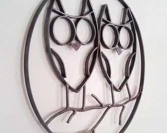 Steel Owls Decor