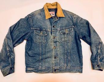 Vintage 70s 80s Lee Strom Rider Denim Jacket