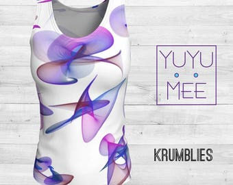 KRUMBLIES Women's Loose or Fitted Tank