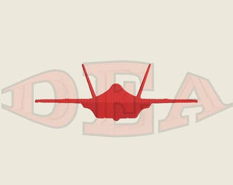 F-35 - Instant Download Machine Embroidery Design