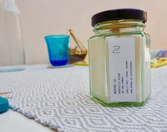 Perfectly Plain Soy Wax Candle - Small (Cruelty-free)