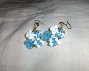 Snowflake Snowblocks Earrings