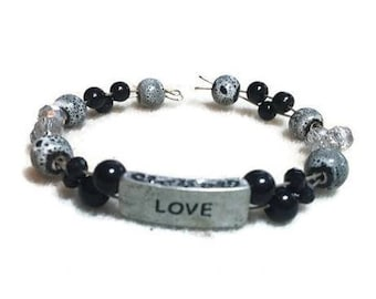Moderne Love Cuff Bracelet