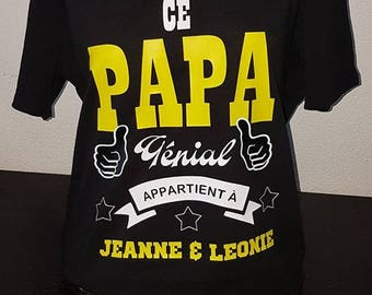 """This awesome Dad"" custom t-shirt"