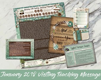 January 2018 Visiting Teaching Message: Our Heavenly Father