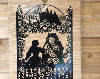 Fairytale oak plaque