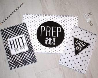 Prep it, Shop it, Hiit it up!