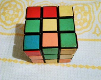 Vintage Soviet Rubik's Cube Logical Puzzle Game Made in USSR by Hungarian sculptor  3D Puzzel, Logic Game, Travel Game, Fun Toy, Vintage Toy