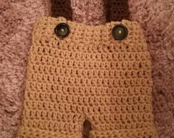 jumpsuit hand made crochet yarn