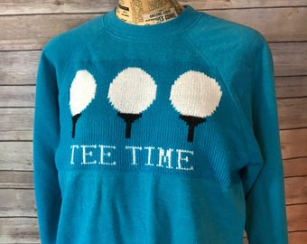 Vintage Tee Time Golf Sweatshirt