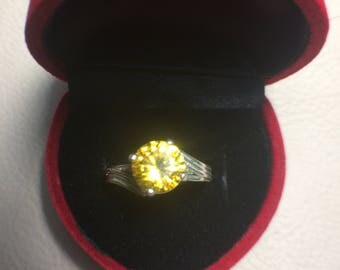 Yellow Zircon