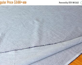 ON SALE SALE Gray White Cotton Fabric