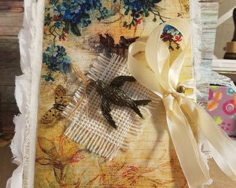Birds & Butterflies Junk Journal