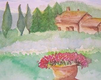 Tuscan Dreams print