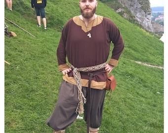 Miedieval slavic vikings   galligaskins trousers