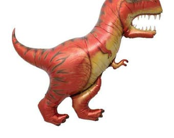 "CLEARANCE SALE Tyrannosaurius (T-Rex) Balloon - 47"""