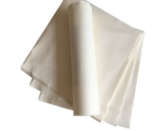 White Napkins, Paper, LUXURY, - PACK OF 20