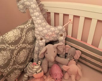 Custom Stuffed Giraffe