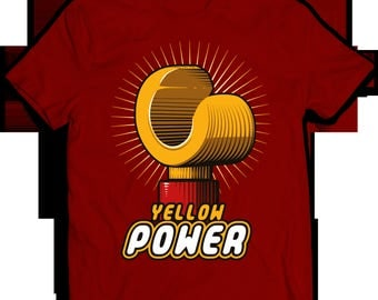 Tshirt Yellow Power