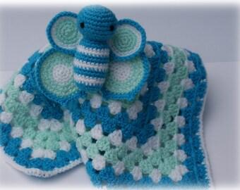 Butterfly Comforter/Lovey Crochet Pattern