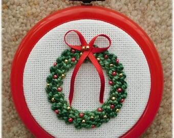 Christmas wreath ornament kit