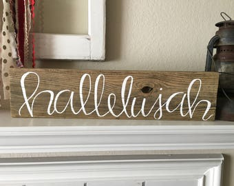 Hallelujah Sign