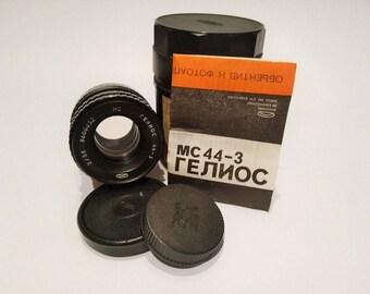 MC HELIOS 44-3 2/58 Russian Lens M42 mmz Canon Sony NEX Olympus Lumix from Soviet Union