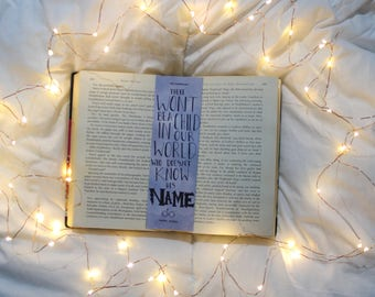 Harry Potter know his name Bookmark