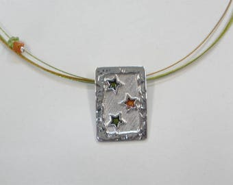 M 5sm Handmade sterling silver necklace