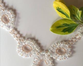 Jewelry set: Necklace, bracelet and earrings plus jewelry