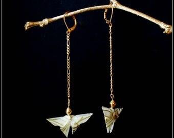 Origami butterflies MŪ earrings
