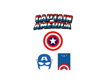 Captain America svg, Captain America Mask svg, Captain America logo svg, Superhero svg, Cut file, SVG digital download