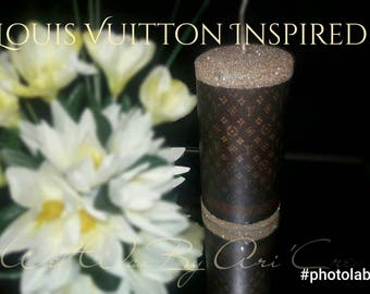 Louis Vuitton Inspired Designer Candle