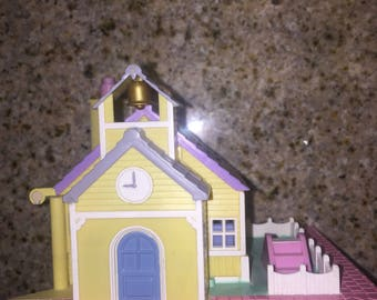 Vintage Polly Pocket School With Lights