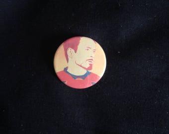 Tony Stark / Iron Man - 25mm Badge
