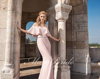 Budapest- Evening dress V-047