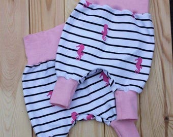 Seahorse bloomers for baby