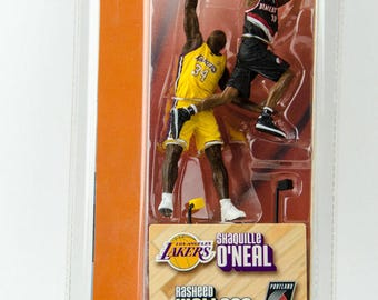 Mcfarlane's NBA Shaq Shaquille O'Neal LA Lakers Rasheed Wallace Action Figure