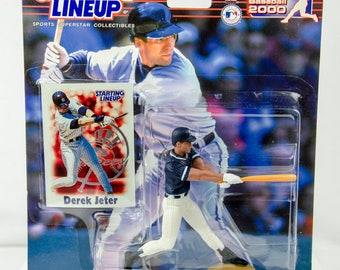 Starting Lineup Baseball 2000 Series Derek Jeter Action Figure NY Yankees